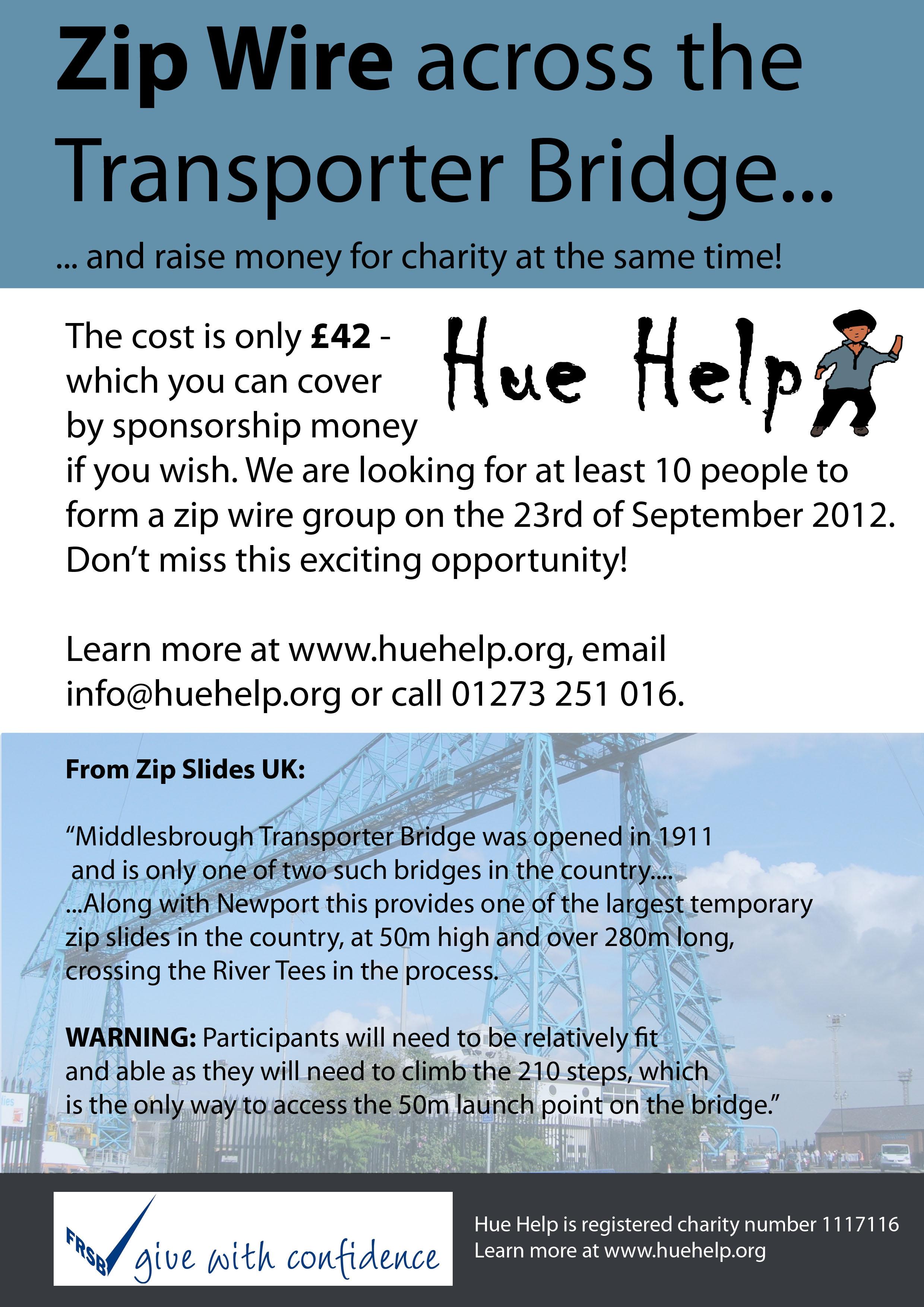 Zip Wire Poster - Hue Help
