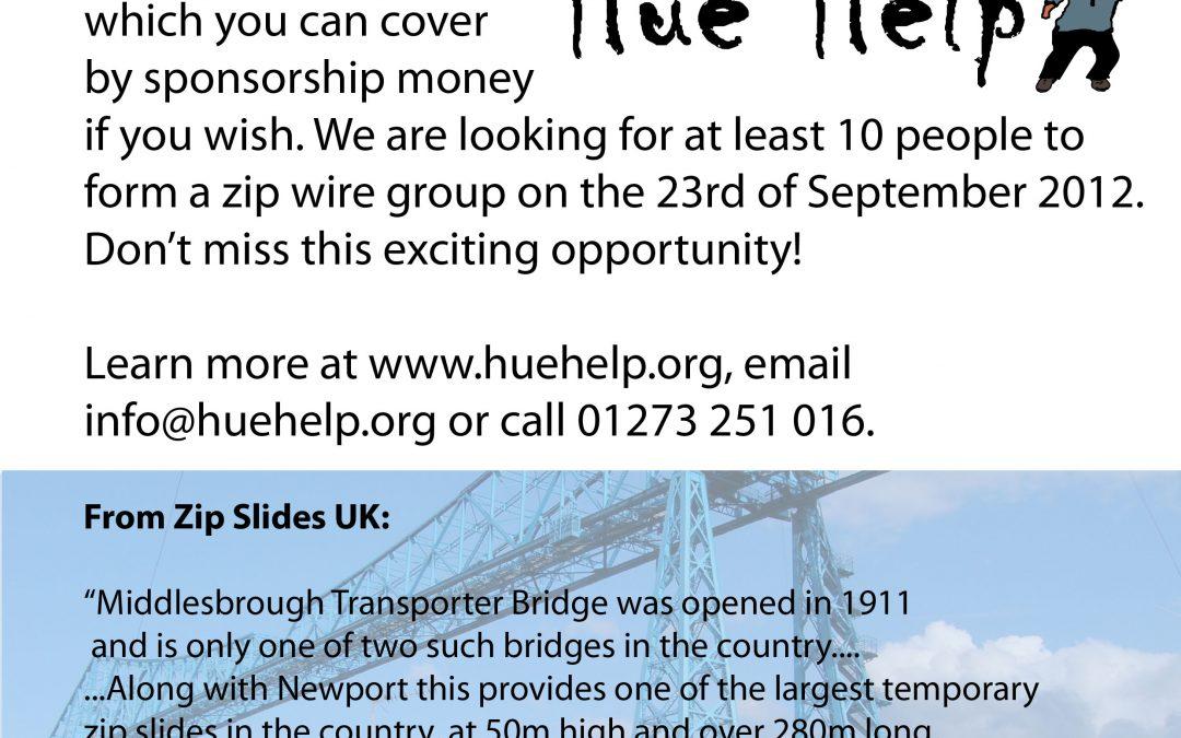 Zip Wire Event – Middlesbrough Transporter Bridge, 23/09/2012