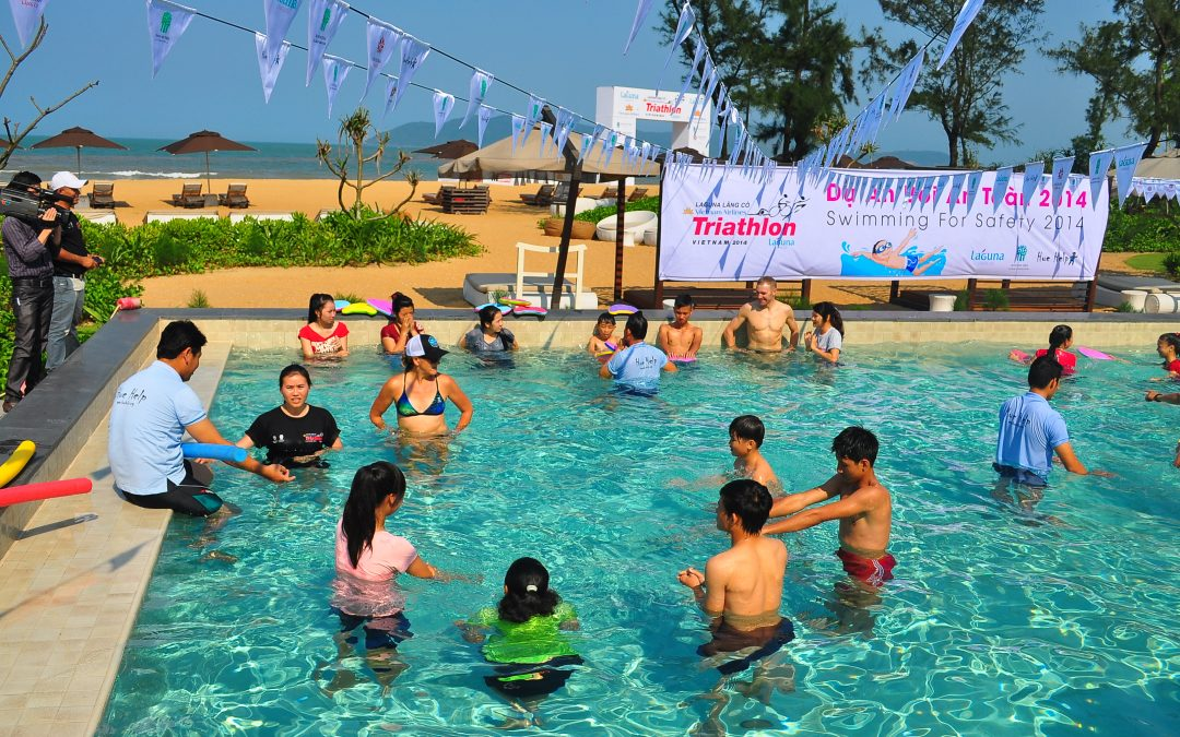 Laguna Lang Co supports Swimming for Safety