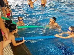 Swimming for Safety in Hanoi